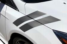 Custom Vinyl Decal HASH MARKS Wrap Kit for Ford Focus Hatchback 2015-2018 GRAY