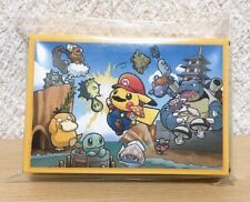 2016 Nintendo Poker Playing Cards - Mario Pikachu (Pokemon Center Kyoto) - New