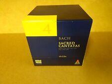 15-CD BOX BACH 2000 TELDEC DAS ALTE WERK VOLUME 4 / BACH - SACRED CANTATAS