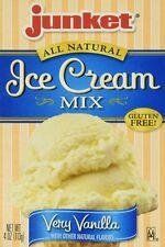 Junket Very Vanilla Ice Cream Mix, 4 oz (Pack of 3)