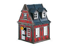 Playmobil 7785  Red  Framewok House     Rare Brand New item  LGB (  add one )