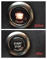 BMW Engine start stop button repair kit 3d sticker decal E90 E91 E60 E61 E84