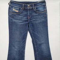 Diesel Ronhar Wash 008ZZ W32 L30 blau Damen Designer Denim Jeans Hose Mode Retro