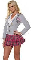 SEXY SCHOOL GIRL SAINT TRINNIANS FANCY DRESS COSTUME 8-12