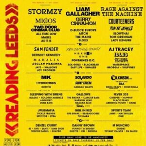 Leeds festival weekend tickets 2021 inc. camping
