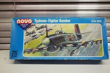 Typhoon Fighter Bomber Novo 1/72 Cat #78078 Sealed 100% complete made in USSR