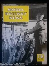 MODEL RAILWAY NEWS - MAY 1957