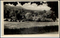 FRIEDRICHRODA Thüringen DDR 1956 Blick zum Schwimmbad alte Postkarte