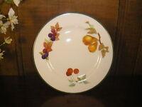 Excellent Royal Worcester EVESHAM VALE SALAD/DESSERT PLATES - 21 cms