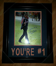 MIKE DITKA 'CHICAGO BEARS' YOU'RE # 1 SIGNED 11X14 PHOTO-MATTED & FRAMED *COA