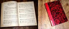 le bal masqué opéra de Verdi partition piano chant paroles françaises 1885