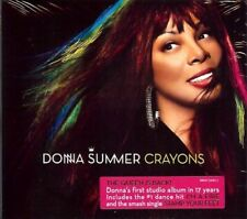 Donna Summer - Crayons - CD Album, Digisleeve, I'm A Fire, Stamp Your Feet,+ NEU