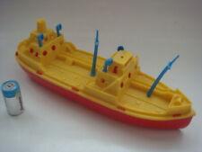 OLD GREEK PLASTIC SHIP BOAT    BEAUTIFUL COLOURS  1970s