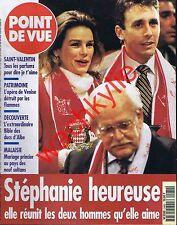 Point de vue n°2480 du 07/02/1996 Stéphanie Monaco Opéra de Venise Fenice
