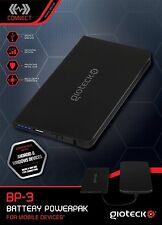 Gioteck BP-3 Battery Power Bank Handy Ladegerät für Samsung HTC Blackberry NEU
