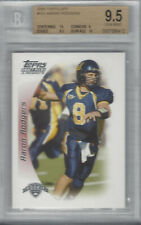AARON RODGERS 2005 TOPPS DRAFT PICKS & PROSPECTS FOOTBALL RC #152 BGS 9.5