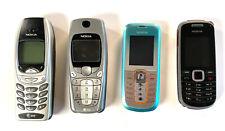 Lot of 4 vintage Nokia phones
