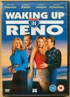 Waking Up in Reno DVD 2001 Romcom starring Charlize Theron Patrick Swayze