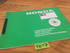 Tondeuse gazon Honda HREL171 HREL172 HREL 171 172 liste piéce détachée