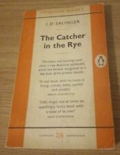 THE CATCHER IN THE RYE by J D SALINGER 1st First Penguin Paperback Edition 1958