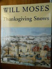"Will Moses Thanksgiving Snow Puzzle - 1000 pieces - 24"" x 30"" Sealed"