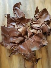 selection of leather pieces for craftwork