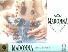 MADONNA LIKE A PRAYER CASSETTE  ALBUM Electronic Synth-Pop 1990  SIRE WX239C