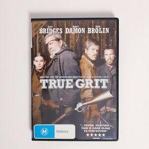 True Grit Movie DVD Region 4 AUS Free Postage - Action Western