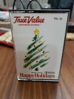 Happy holidays  Christmas songs Various Artists  Audio Cassette Tape true value