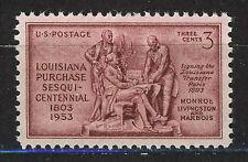 ESTADOS UNIDOS/USA 1953 MNH SC.1020 Louisiana purchase