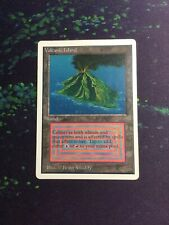 Mtg, Volcanic Island. Unlimited Rare Dual Land. *HP Inked*