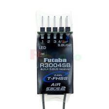FUTABA R3004SB 2.4GHZ 4/18-CHANNEL S.BUS2 T-FHSS FULL-RANGE RECEIVER