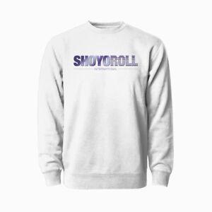 SHOYOROLL SCREENSAVER SWEATER WHITE/L
