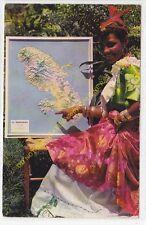 CPSM MARTINIQUE Carte Martiniquaise  Edit ROSE ROSETTE