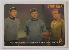 "RITTENHOUSE 2008 ""STAR TREK 40th ANNIVERSARY Series2""PROMO CARD [P2] V/GOOD COND"