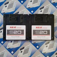 TR-808 & 909 Sounds for Akai S20/REMIX 88 Drum Kit Sample Pack Floppy Disk