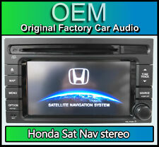 Honda Jazz navigation car stereo, Honda Sat Nav CD player 08A40-2R6-4000-01