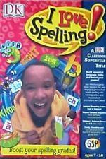 I Love Spelling Pc Cd-Rom Children Windows Learning Software New gsp dk