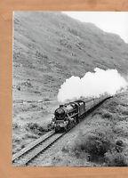 """George Stephenson climbing glenfinnan -mallaig 17/8/86 Original 10""""x8"""" photo"""