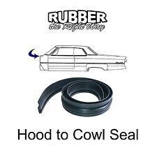 1959 1960 Cadillac Hood to Cowl Seal