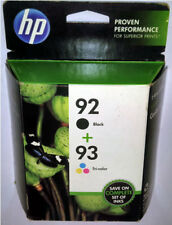 HP® Ink for HP 92 Black and HP 93 Tri-color