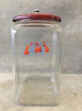 ca. 1940 - 50's Lance Countertop Cracker Jar Lot 88