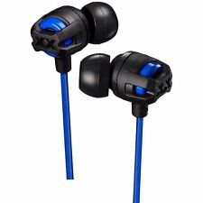 XTREME XPLOSIVES IN EAR HEADPHONES WITH MIC AND REMOTE - BLUE (MODEL HAFX103MA)