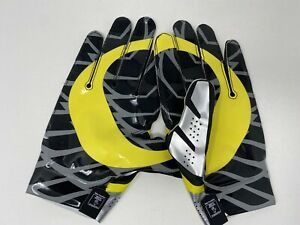 Nike Oregon Ducks Vapor Fly Football Gloves Receiver PROMO TEAM ISSUED 3XL