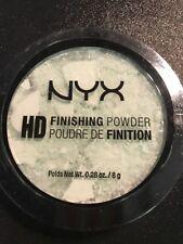 Nyx Cosmetics Hd Finishing Powder Hdfp03 - Mint Green