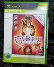 Xbox juego Fable the Lost Chapters sin instrucciones buen estado + embalaje original