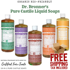 Dr Bronner's Castile Soap 32 Oz | Pick Scents