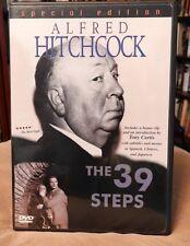 4* HITCHCOCK masterpiece The 39 STEPS (1935), Robert Donat, Madeleine Carroll +