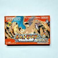 Pokemon Fire red Version Nintendo GAMEBOY ADVANCE Pocket monsters Japan