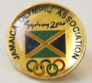 2000 SYDNEY OLYMPICS - JAMAICA OLYMPIC ASSOCIATION PIN